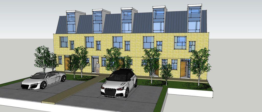 Croydon, London, building and elevation design